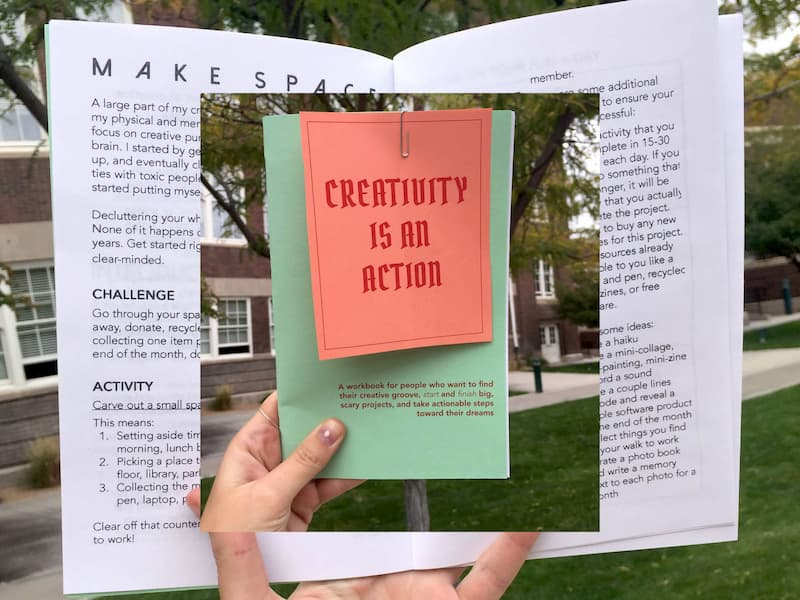 creativity is an action 1
