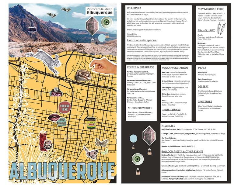 Zinesters Guide to Albuquerque